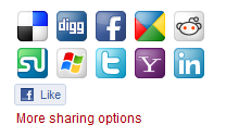 Social Bookmarks front end